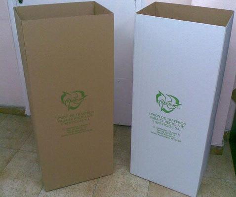 Contenedores para el reciclaje en barcelona utrese s l for Papel para oficina